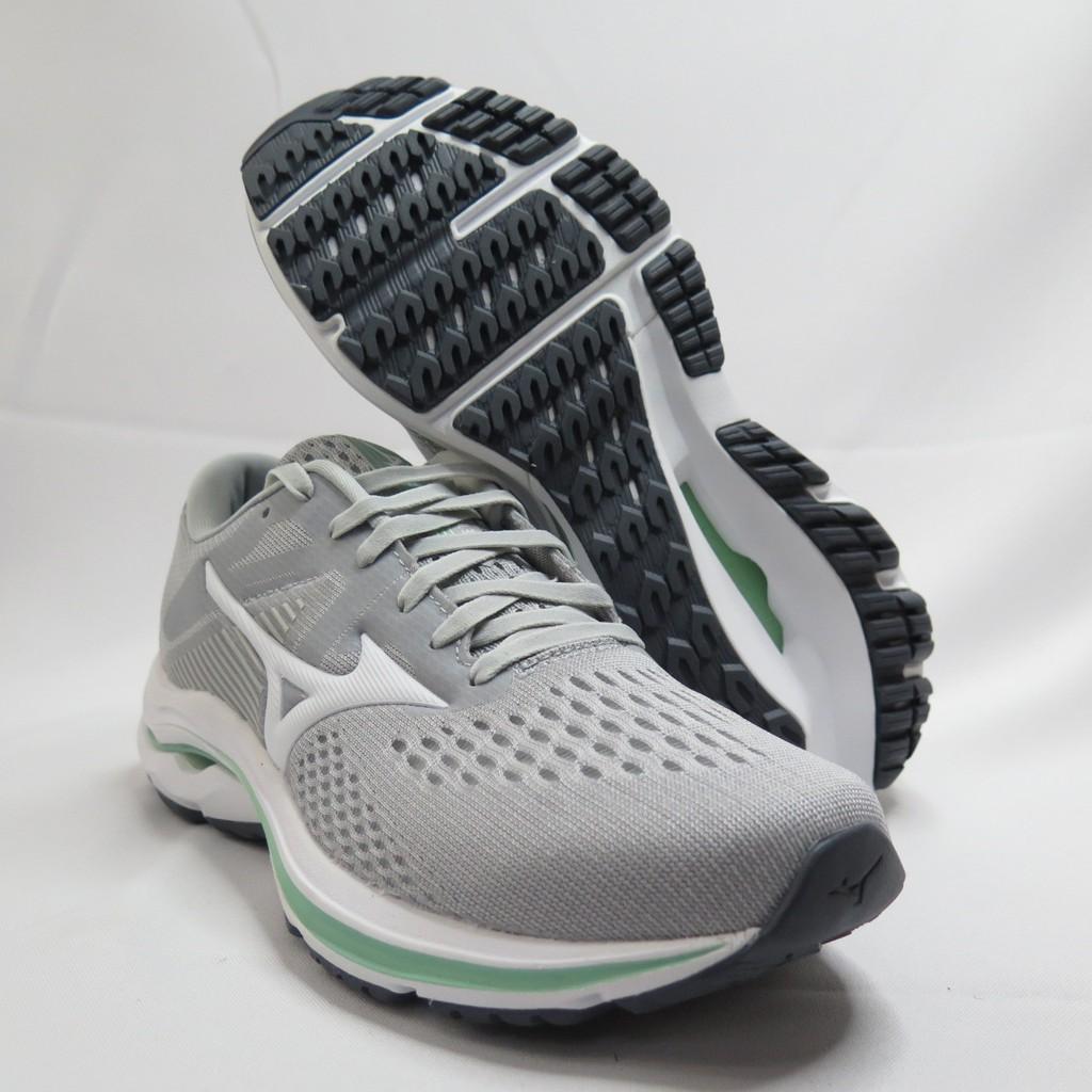 Mizuno WAVE INSPIRE 17 女款 3E楦 慢跑鞋 J1GD214601 灰【iSport愛運動】