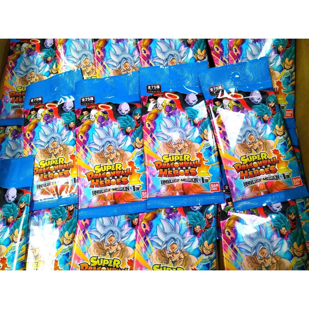 現貨 七龍珠英雄 機台卡片補充包第一彈第二彈 龍珠英雄 宇宙使命 台灣可用 香港卡  遊戲卡 七龍珠 萬代 BANDAI