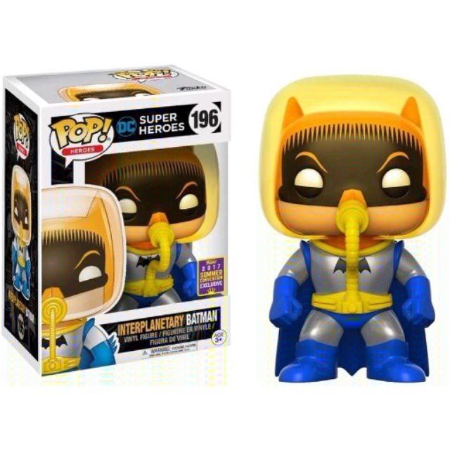 柴寶趣 FUNKO POP 196 interplanetary BATMAN 太空 蝙蝠俠 英雄 正版