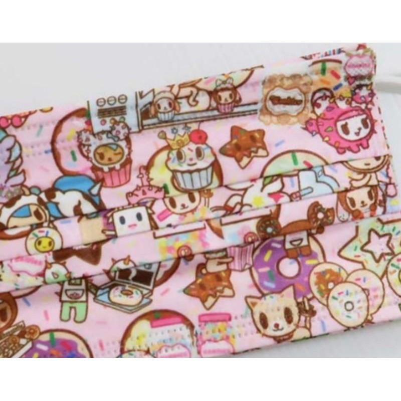 🔥現貨 熱賣🔥【多奇 口罩】(粉色新款)日本 TOMKO TOKI DOKI口罩(非醫用)成人款一片10元
