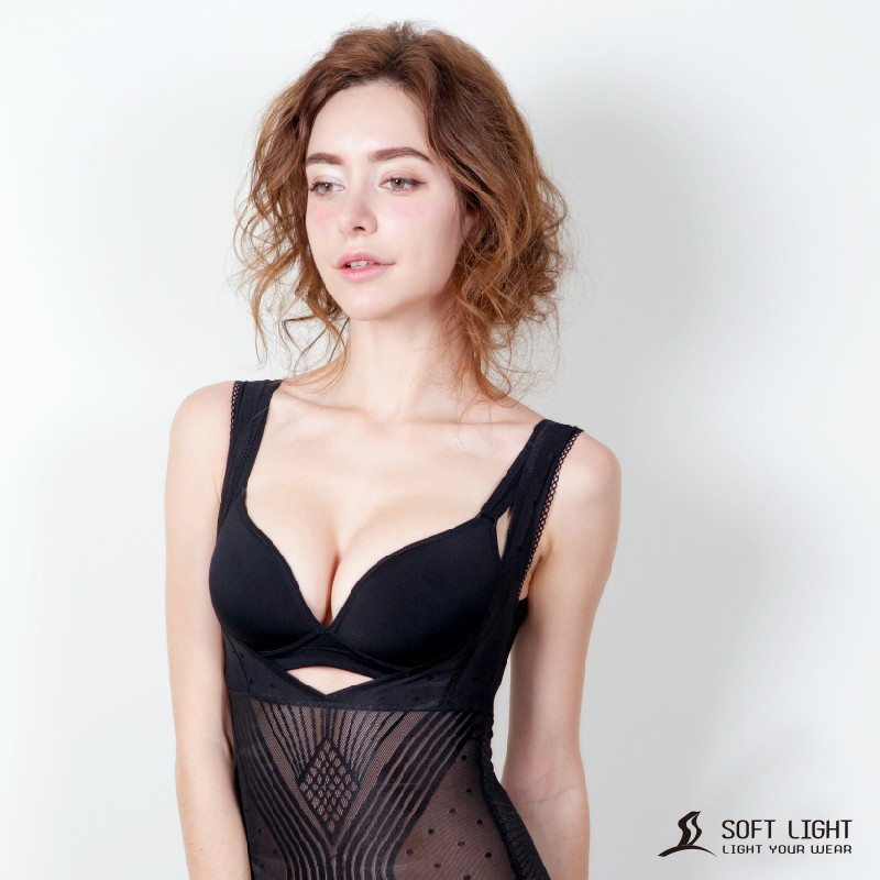 SOFT LIGHT -「零束感」蠶絲創新隱形塑身衣