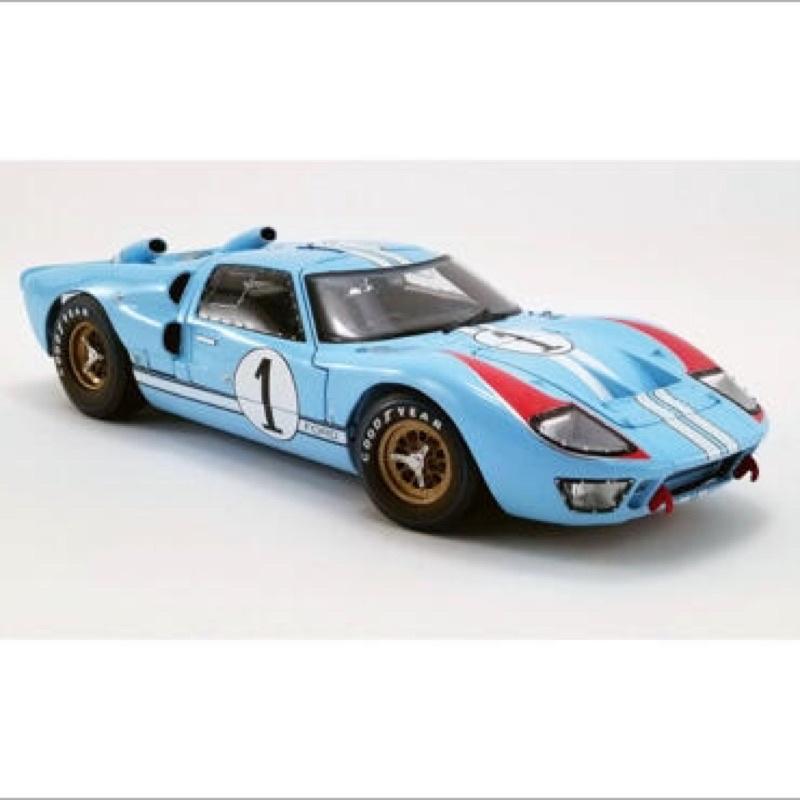 《模王》 1:18 1966 福特 GT40 MK2 「賽道狂人電影配色」