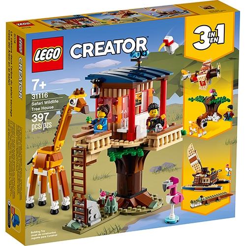 LEGO 樂高LT31116 野生動物園樹屋_三合一創意Creator 系列