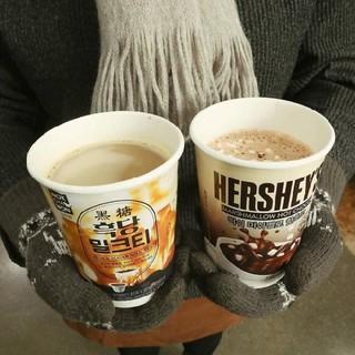 【饞嘴屋】韓國進口棉花糖熱巧克力可可粉冬季熱飲杯裝速溶沖泡飲品#滿1699黑貓免運#11 桃園市