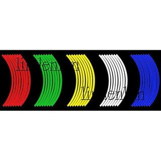 反光輪框貼紙10吋 12吋 13吋 14吋 16吋 17吋 18吋 機車貼紙 輪胎貼紙 輪框貼 台北市