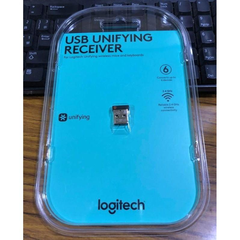 點子電腦-北投◎羅技Logitech Unifying 1對6 原廠接收器 無線接收器 原廠 接收器299元