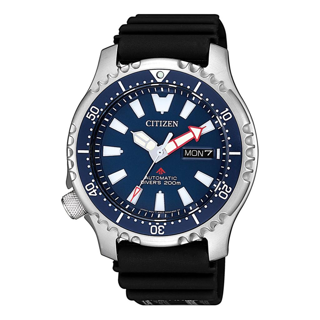 CITIZEN 星辰PROMASTER 藍色海洋潛水運動機械腕錶(NY0081-10L)