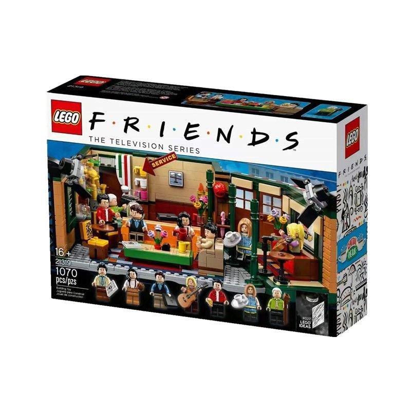 LEGO樂高21319 創意美劇老友記咖啡館經典重現男女孩積木玩具禮物