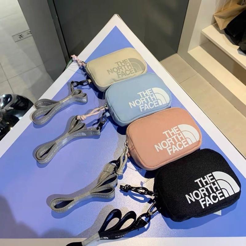 (黑色現貨)The North Face 韓國代購 秒出貨 WL WALLET 證件帶 零錢包 吊飾 北臉 運動款