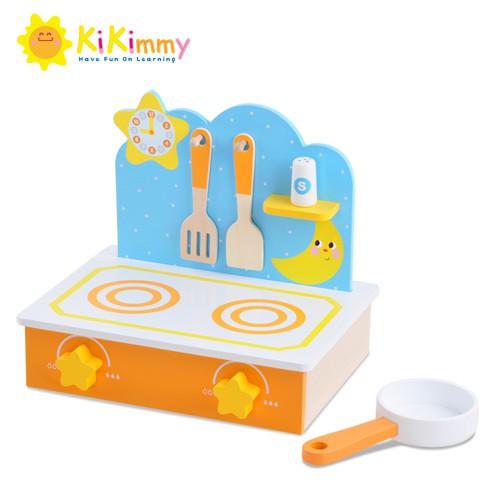 Kikimmy 木製小星光廚房玩具組K384 (廠商直送)