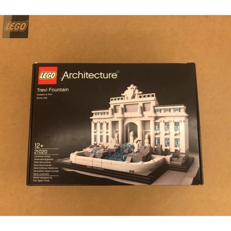 樂高21020 經典建築 羅馬噴泉 二手極新 無灰塵無缺件