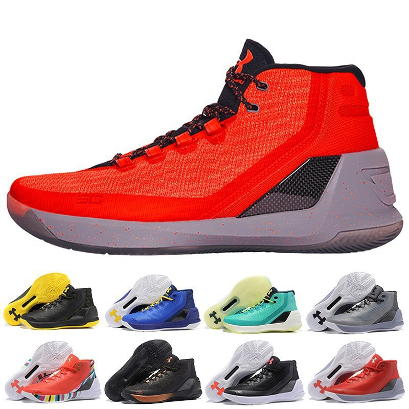 新UA Under Armour UA Curry 3安德瑪庫里3代戰靴Curry3代
