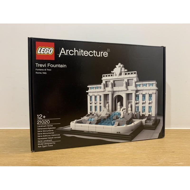 |全新|樂高 建築系列 LEGO ARCHITECTURE 21020 特雷維噴泉 Trevi Fountain