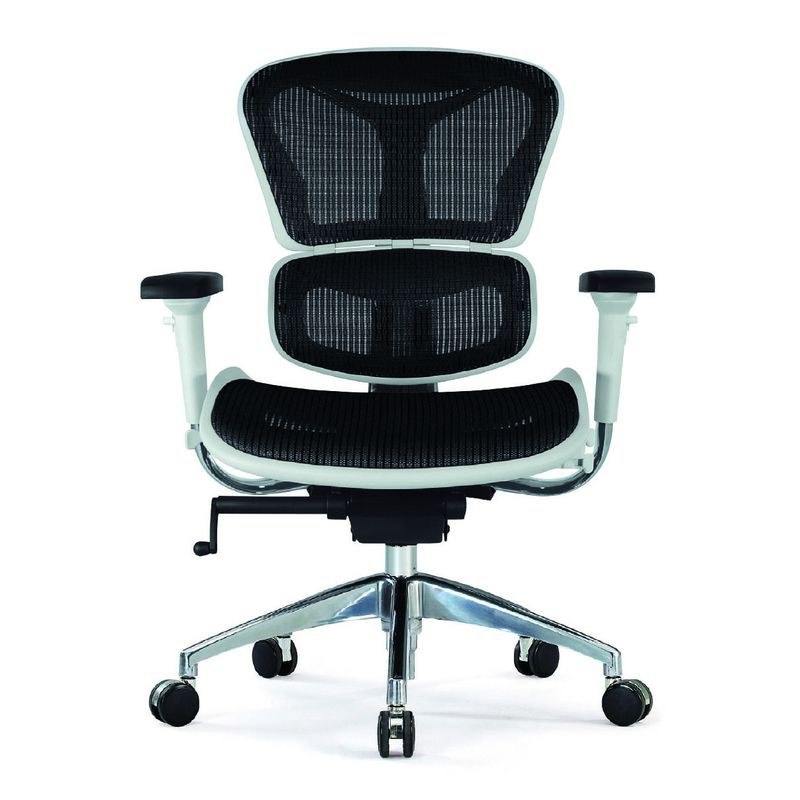 【CH07-01】網布扶手辦公椅#JS-D142STG(B)