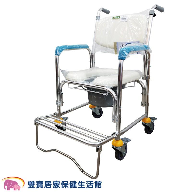 【免運】光星 四輪鋁合金洗澡便器椅CS-012B 馬桶椅 洗澡椅 CS012B 洗澡馬桶椅 鋁合金馬桶椅 便盆椅