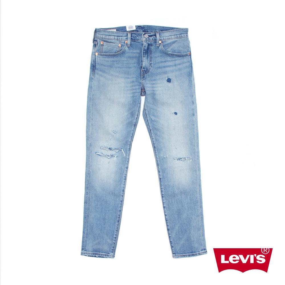 Levis 男款 上寬下窄 512 低腰修身窄管牛仔褲 / 赤耳 / 彈性布料-人氣新品 28833-0901