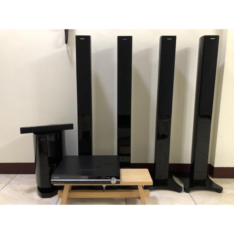 二手 sony 音響 DAV-DZ1000 5.1聲道 家庭劇院