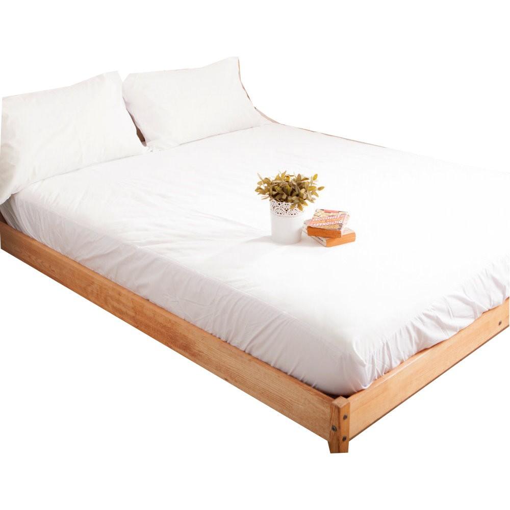 【LUST】全防水 床包保潔墊(無舖棉)  保潔枕套/防蹣抗菌 /完全防水/ Dintex/ SGS檢驗/ 台灣製造