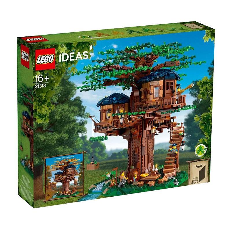 LEGO/樂高21318樹屋ideas系列小顆粒積木玩具