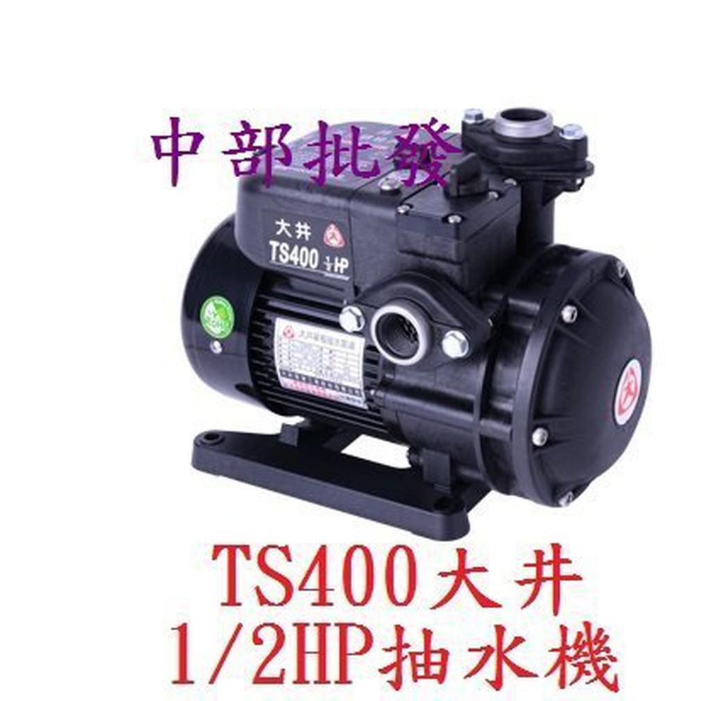 免運 大井經銷商 TS400 1/2HP 塑鏽抽水機 電子式抽水機 靜音型抽水馬達 家用抽水機 靜音馬達