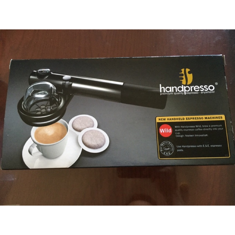 Handpresso 手持式義式咖啡隨行機