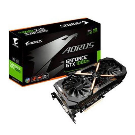 (二手)GIGABYTE技嘉 AORUS GeForce GTX 1080 Ti 11G 顯示卡 鷹神版