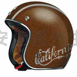 【安全帽先生】美國 TORC T50 CALI ROOT BEER金蔥咖啡 哈雷 雙D扣 復古帽半罩