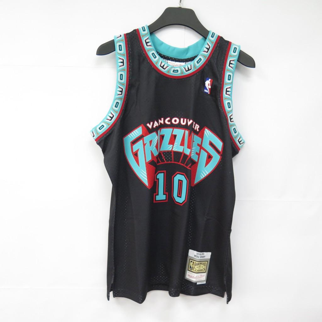 M&N NBA 灰熊 Mike Bibby #10 VG 1998-99 男款球衣MNRLJE22A【iSport】