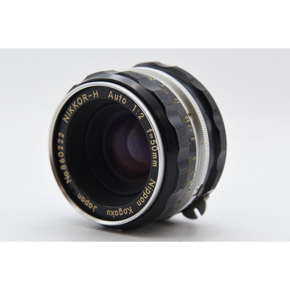 尼康 Nikon Nikkor-H auto Non-AI 50mm F2 定焦標準鏡 鏡頭 老鏡頭 人像鏡 底片相機