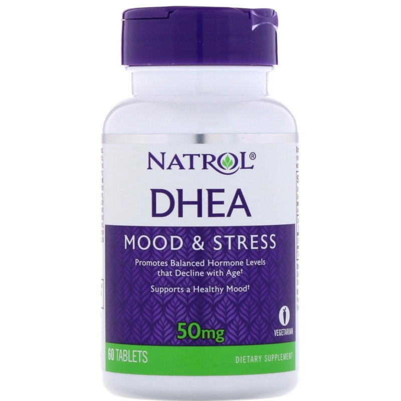 預購Natrol DHEA荷爾蒙平衡60顆