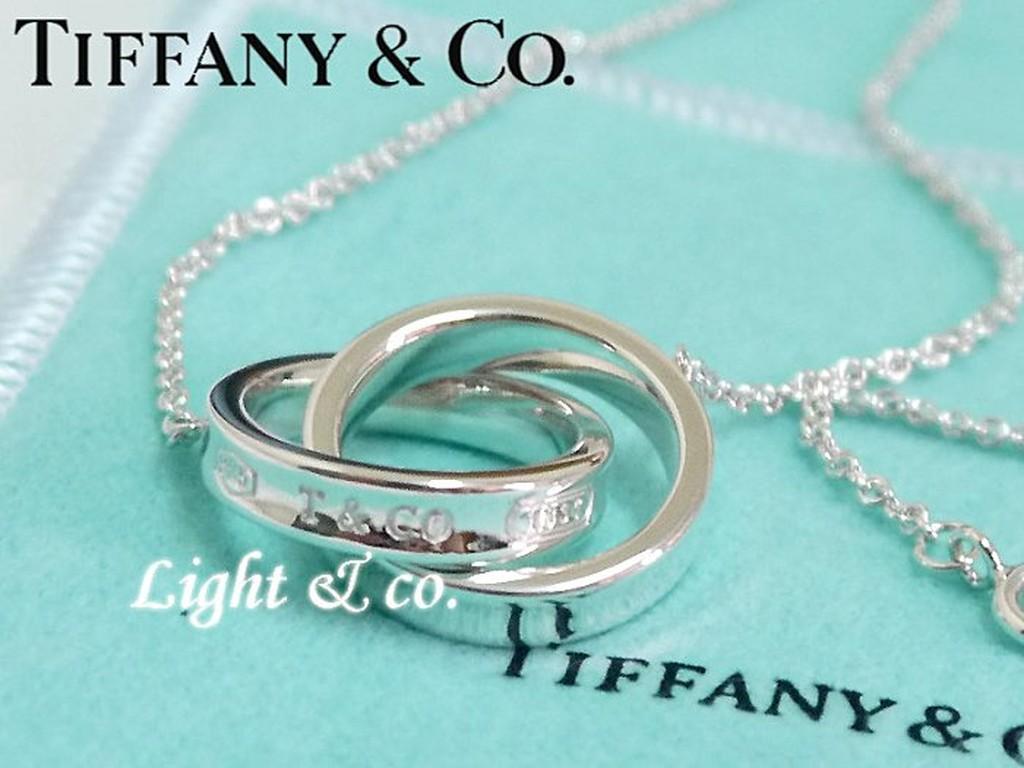 【Light & co.】專櫃真品 TIFFANY & CO 純銀 雙1837 戒指 雙戒 雙環 双環 雙圈 項鍊 男款
