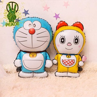 生日裝飾布置氣球卡通哆啦A夢寶寶周歲派對場景布置機器貓小叮鐺 屏東縣