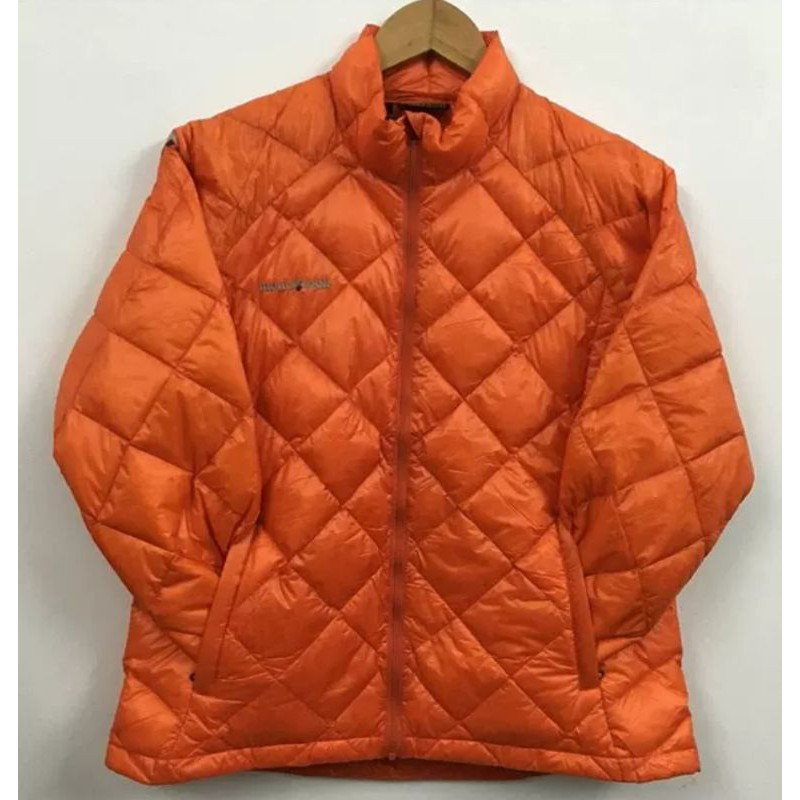 6折 原價9800,女款montbell 1000FP 超輕保暖羽絨服,灰色,黃色,橙色mont bell無帽