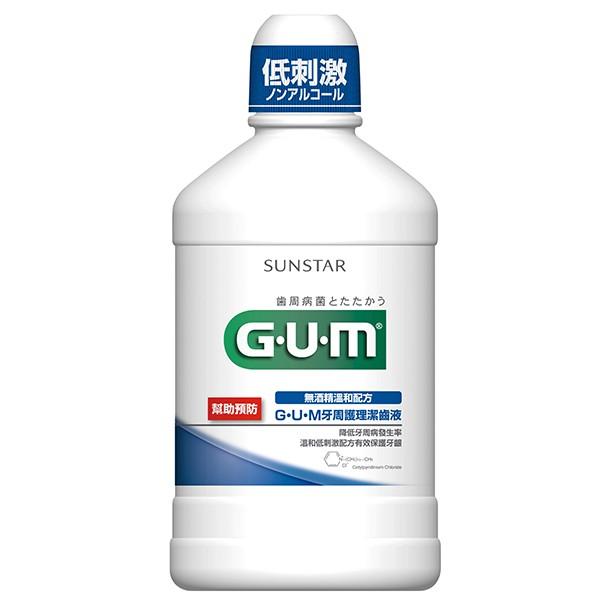 GUM牙周護理潔齒液500ml【康是美】