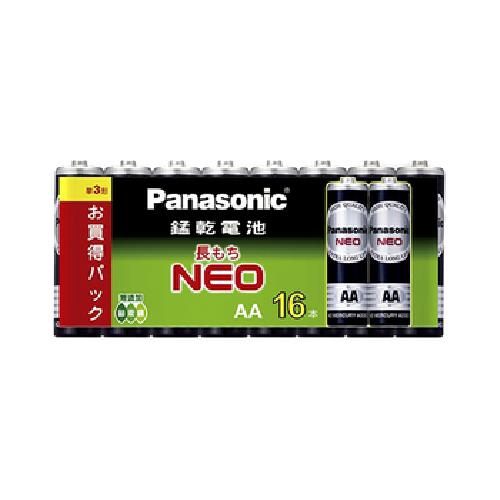 Panasonic 碳鋅電池16入(3號)[大買家]