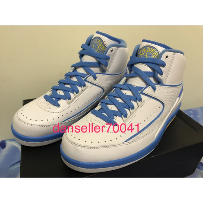Nike Air Jordan II retro melo 北卡藍 Jordan 2代