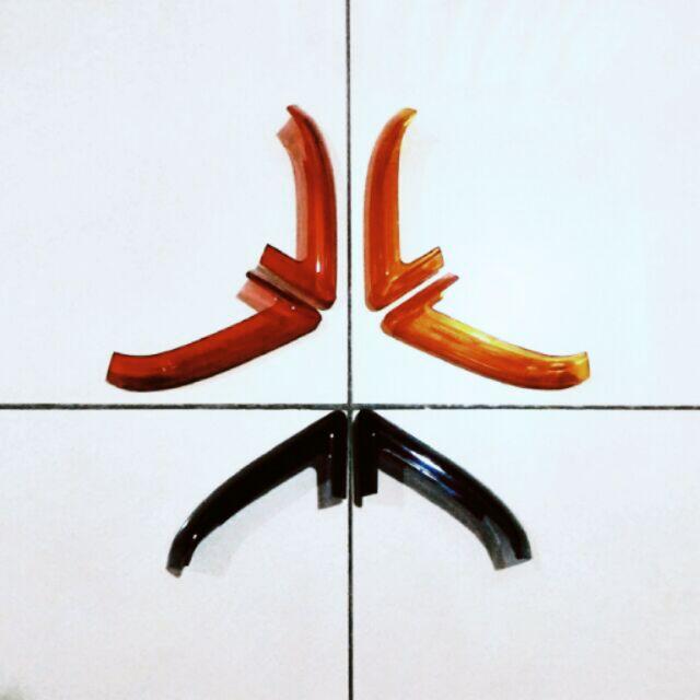 《油門嘎催囉》新勁戰四代 - 日行燈貼片式燈殼 YAMAHA CYGNUS-X 雙碟