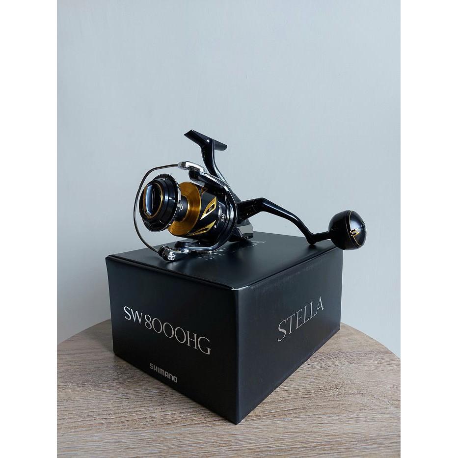 全新現貨 SHIMANO 19 STELLA SW 8000HG 捲線器 (自取送購物金)