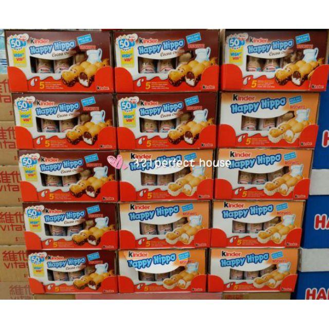 🔥現貨良心價🔥🍊代購🔥📣每週到貨🔥火紅大熱商品🔥香港代購🔥Kinder健達白河馬黑河馬巧克力🍫🍫繽紛樂巧克力紙箱出貨