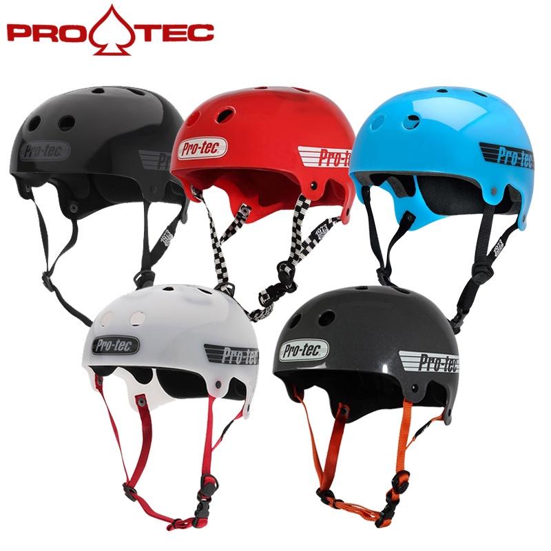 美國PRO-TEC Bucky款頭盔輪滑長板滑板單車極限運動頭盔安全帽