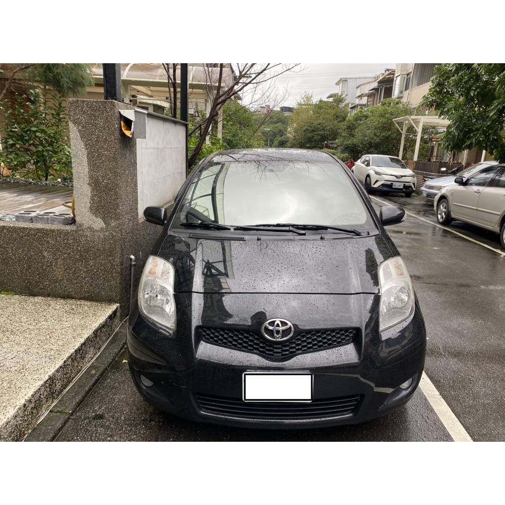 自售09年10月 黑色 TOYOTA YARIS 1.5 小鴨鴨 女用車