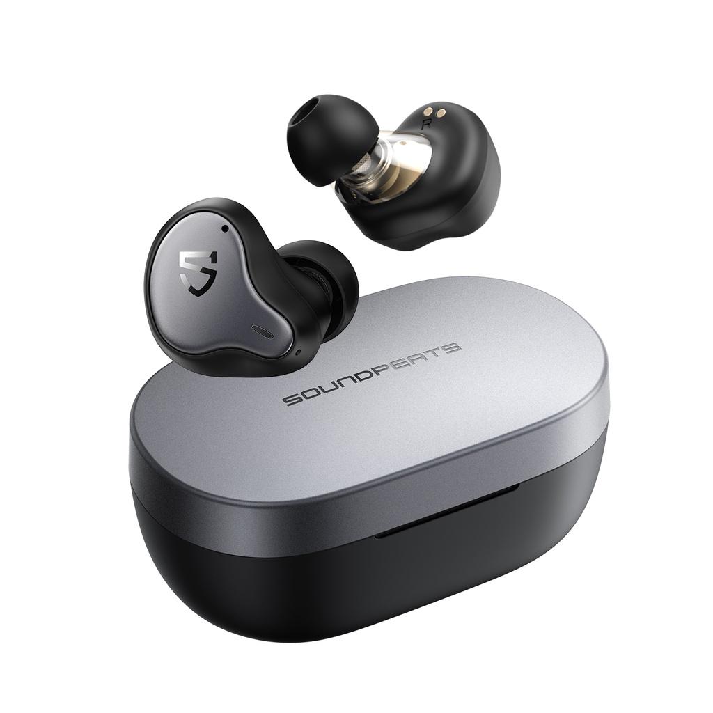 Soundpeats Truengine H1 圈鐵雙單體真無線藍牙耳機 藍牙5.2 IPX5防水