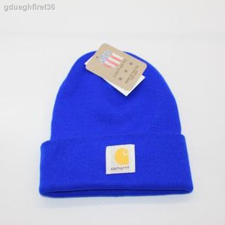 現貨carhartt卡哈特男女情侶冷帽INS同款針織帽經典保暖毛線帽子