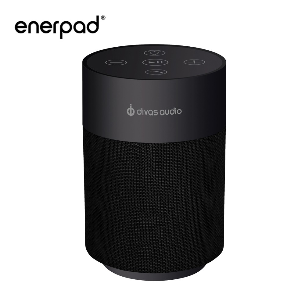 【enerpad】可攜式藍芽喇叭-黑 限時最低5折起 (Q80-B)