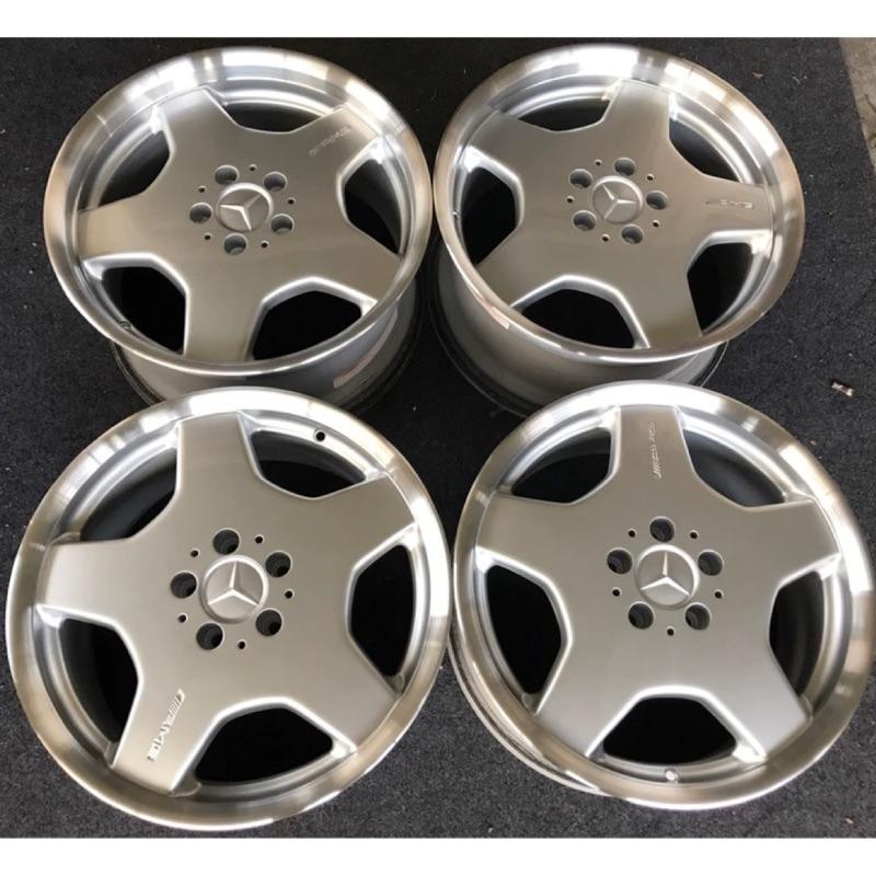 AMG 鋁圈 深唇大餅鋁圈 w210 w124 w639 w129