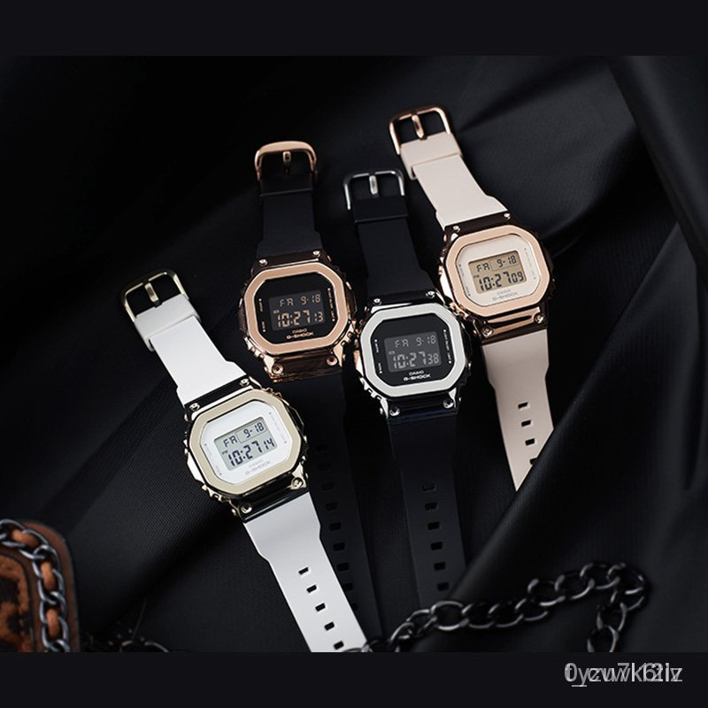 開學季新款速遞新款卡西歐手錶G-SHOCK GM-S5600PG-1/G-7/4/5600B-1/3電子運動男腕錶 ht