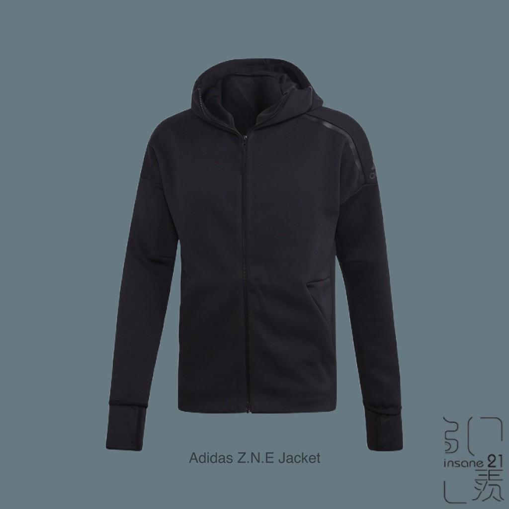 ADIDAS PERFORMANCE ZNE 3.0 零秒解鎖 防風外套全黑 EB5230【Insane-21】