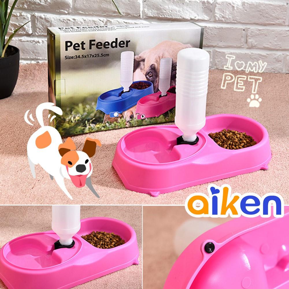 寵物兩用碗 寵物餵食飲水兩用碗 多功能 寵物用品 餵食器 餵水器 J5324-006【守護者保險箱/aiken】