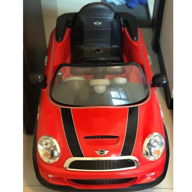 兒童電動車 Mini Cooper s(二手)-可議
