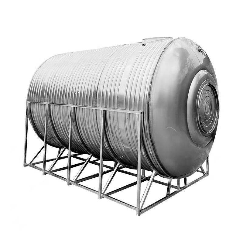 【直郵到家】304不銹鋼水箱臥式儲水罐水塔家用平放加厚太陽能樓頂廚房蓄水桶【正品304水塔儲 】